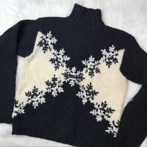 Express Tricot Wool Sweater sz S